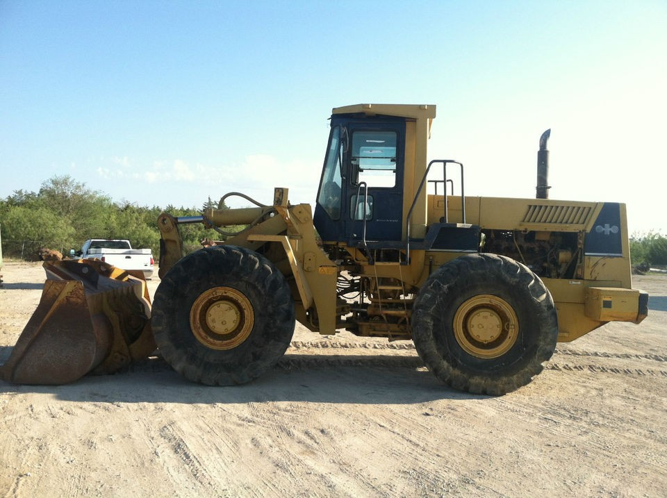 1984 Komatsu WA450 1 Wheel Loader; 4.3 yd loader in good operating