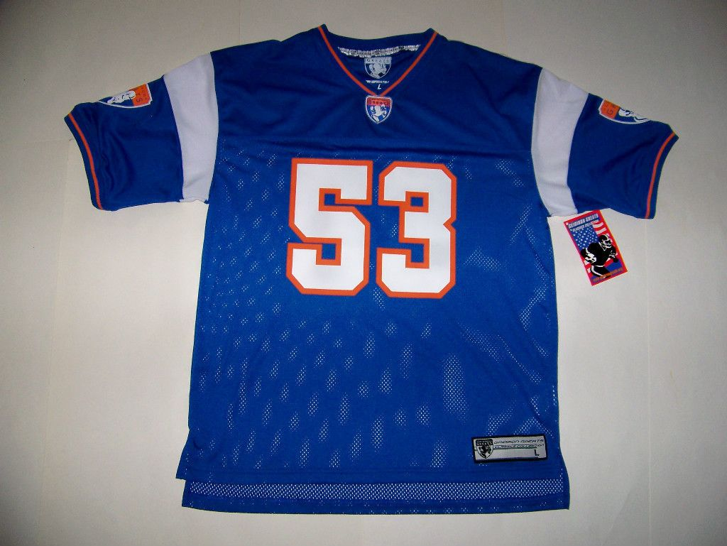 NEW YORK GIANTS 53 HARRY CARSON GRIDIRON GREATS JERSEY LARGE