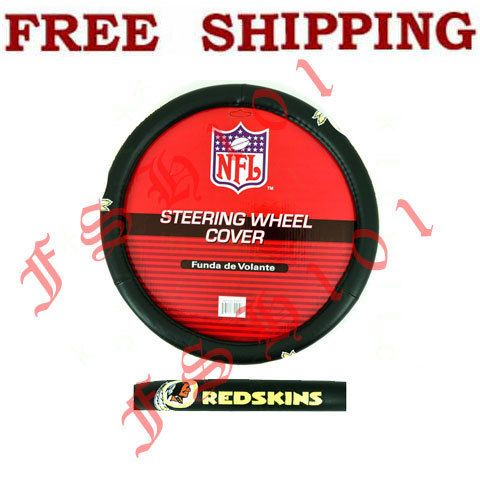 New NFL Washington Redskins Car Truck Steering Wheel Cover
