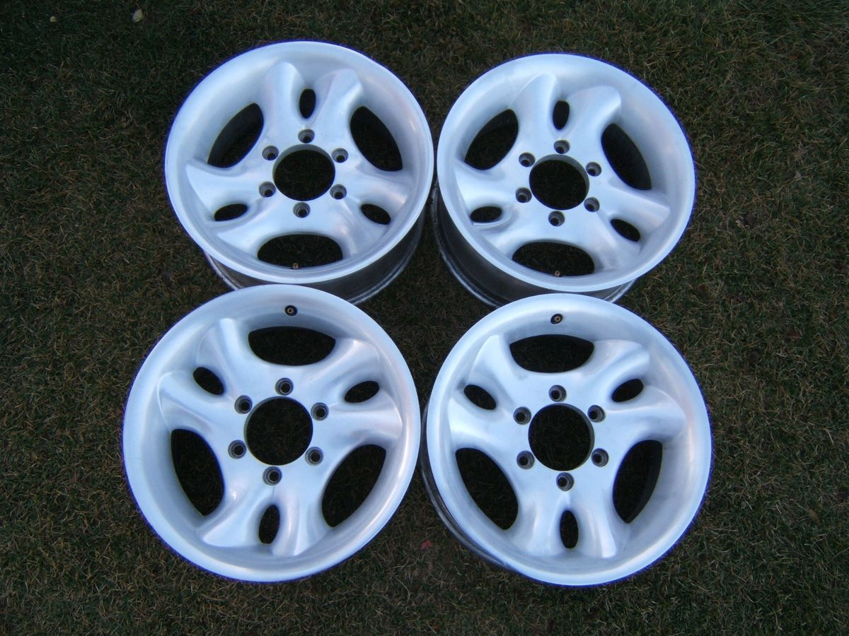 Aluminum Alloy 16 Wheels 6 Lug Rims Chevy GMC Toyota Nissan Jeep 6 x