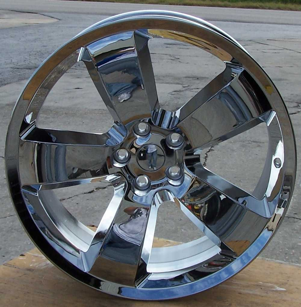 New 20x9 Chrome Alloy Wheel Rim Fits 2006 2009 Dodge Charger with