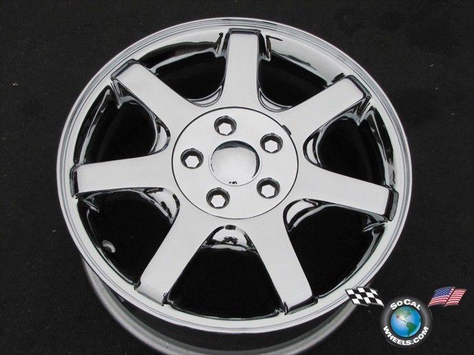 00 07 Ford Taurus Factory 16 Chrome Wheels OE Rim Sable